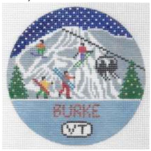 Doolittle Ski Rounds 18 mesh Burke