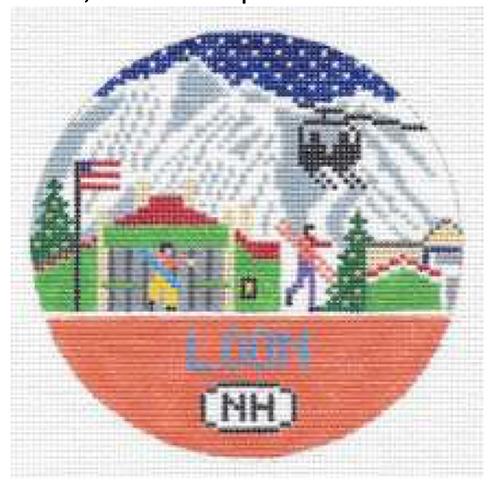 Doolittle Ski Rounds 18 mesh Loon
