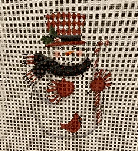Diane Kater DKSN03A Harlequin Hat Snowman