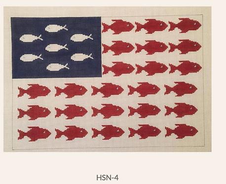 HSN-4 Fish Flag