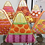 Thumbnail: Eye Candy HW129C Dots and Stripes Candy Corn