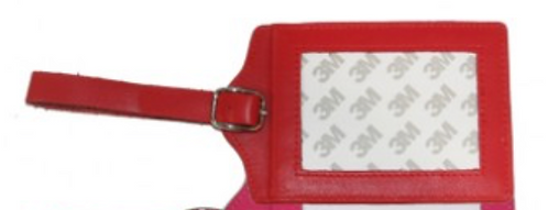 Red Planet Earth Luggage Tag