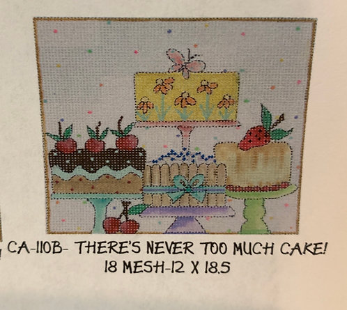 CA-110B there's never too much cake