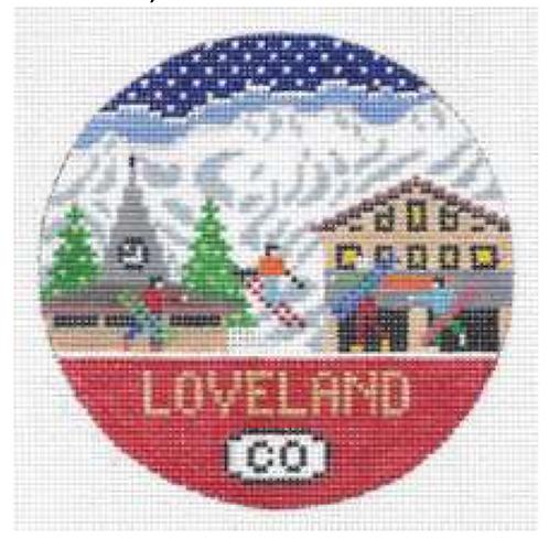 Doolittle Ski Rounds 18 mesh Loveland