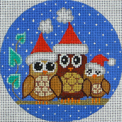 VNG 3 Owls Christmas Round