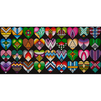 JP Needlepoint Hearts Galore
