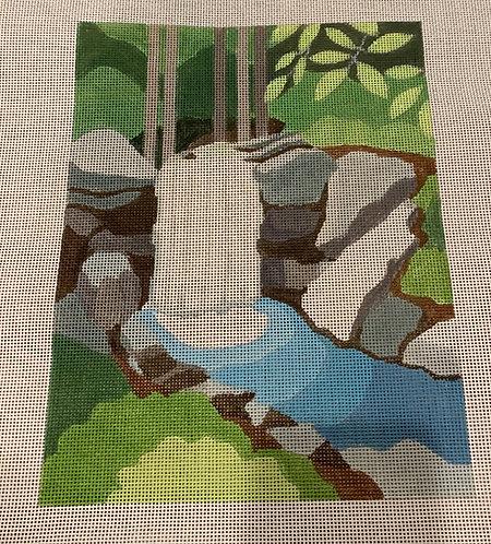 Amanda Lawford Waterfall landscape AL-044