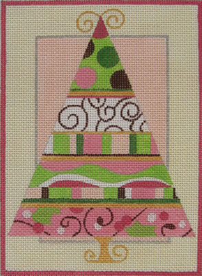 Raymond Crawford  HO223 Pink/Green Tree