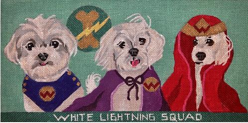 Melissa Prince D18 White Lightning