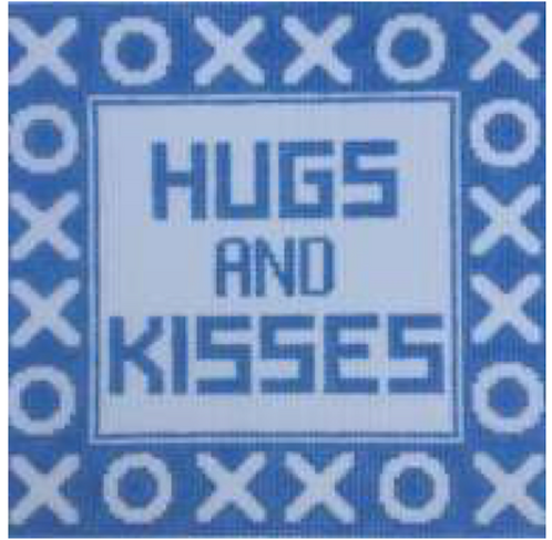 Hugs Pillow Blue