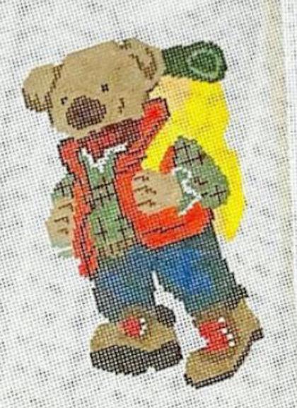 Poppy's Designs Hiking Bear