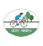 Kathy Schenkel MO197 Gone Biking