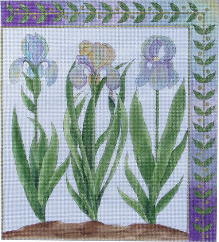 Renaissance Designs FG-111A Three Irises
