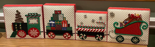 Christmas Train - Janet Casey (Includes Stitch Guide)