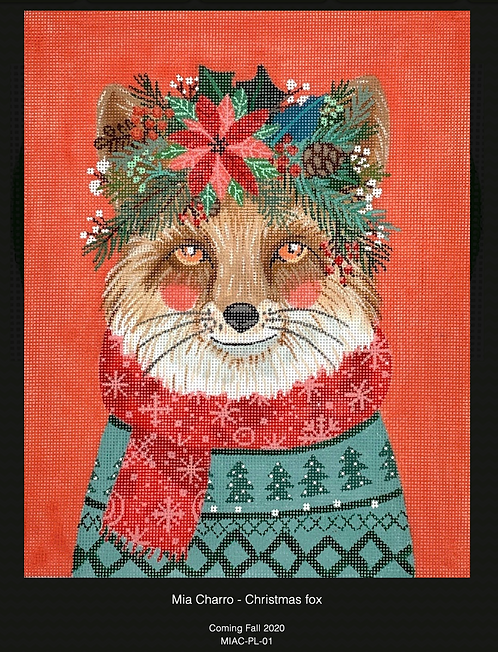 Kate Dickerson Christmas Fox