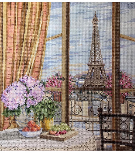 Sandra Gilmore Paris Window.18 mesh
