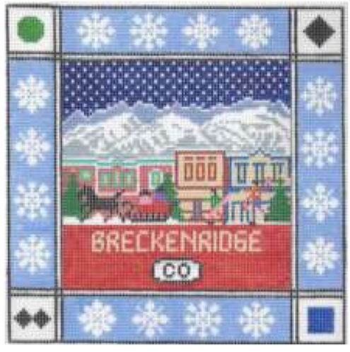 Doolittle Ski Squares 13 mesh Breckinridge