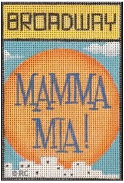 Raymond Crawford Playbill -Mamma  Mia!