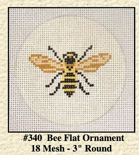 """Needle Crossings 340 Bee Insert 3"""" 18 mesh"""
