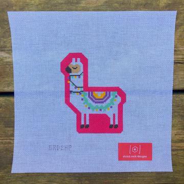 Stitch Rock Designs Hot Pink Llama