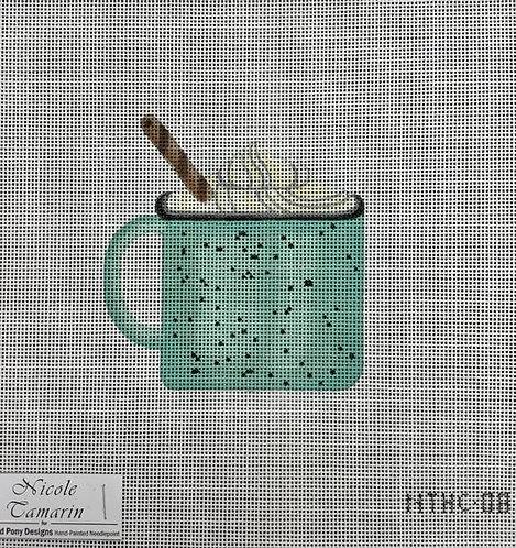Nichole Tamarin Blue Tin Cup NTHC08