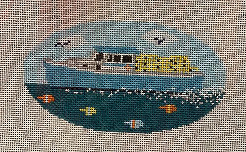 MJD - 40 Fishing Boat Ornament