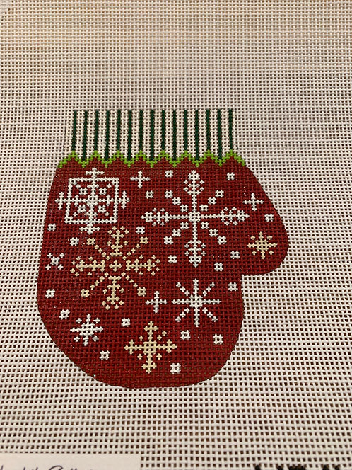 Meredith Collection Red Mitten