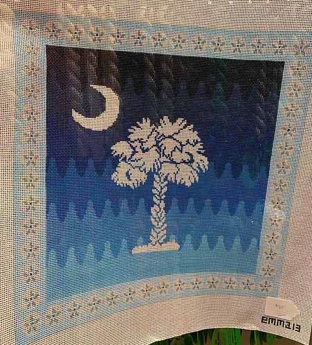 NPJ Designs EMMA 13 Palmetto Tree