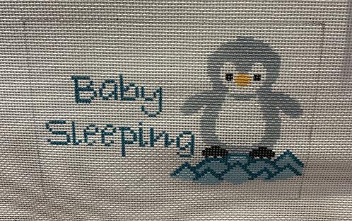 J Child Baby Sleeping  Penguin Sign DHG 234