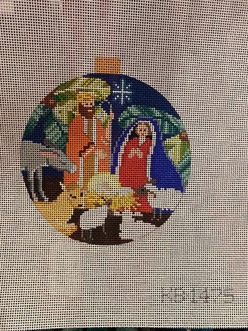 KB 1475 Nativity Round