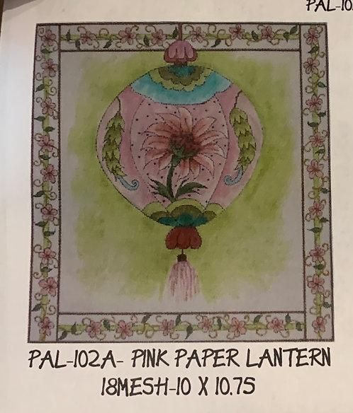 Pal-102A pink paper lantern
