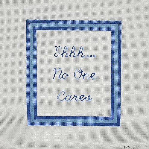 Silver Stitch Shhh...No One Cares