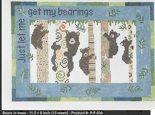 Pippin P-F-030 Bears in Tree