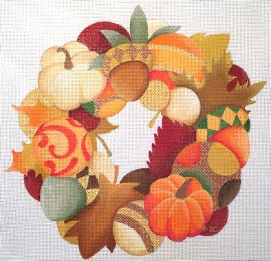 Raymond Crawford HO1387 Autumn Wreath
