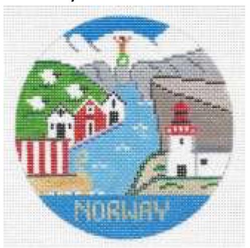 Doolittle Destination Rounds 18 mesh Norway