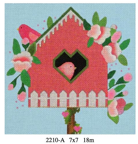 Melissa Shirley Birdhouse Pink 2210 A