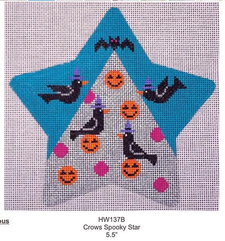 Eye Candy HW137B Crows Spooky Star