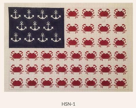 HSN-1 Crab Flag