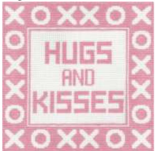 Hugs Pillow pink