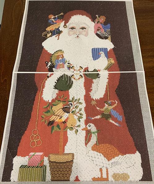 Amanda Lawford's Twelve Days of Christmas Santa