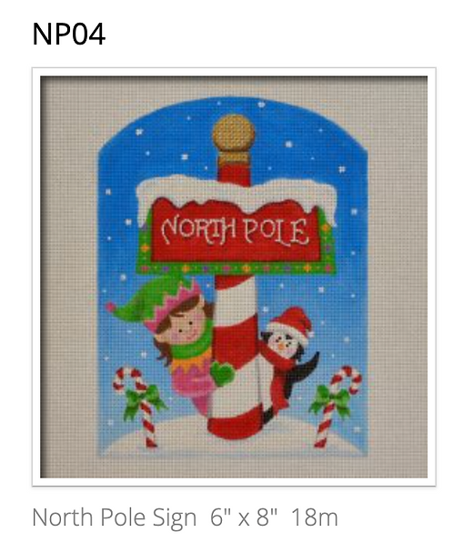 Pepperberry Designs NP04 North Pole
