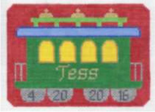 Train Caboose Ornament