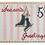 Thumbnail: Plum Stitchery Postage Stamp Ice Skates