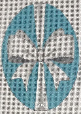 Raymond Crawford HO2038 WHITE BOW OVAL