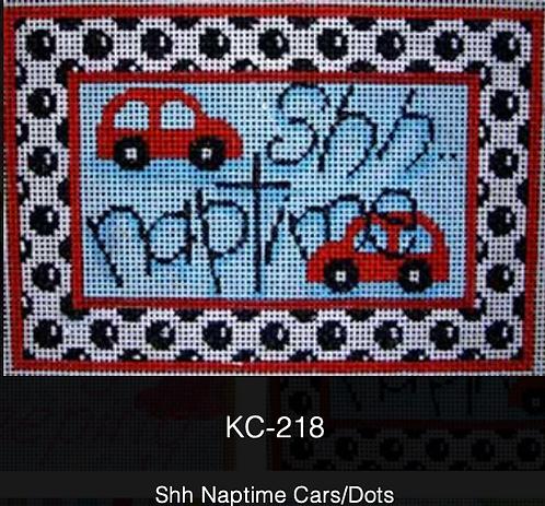 AT KC-218 Shh Naptime Cars/Dots
