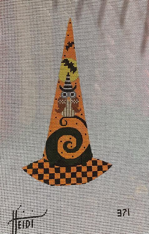 Heidi 371 Witch Hat with Owl