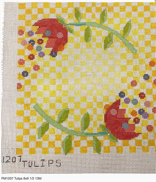 Penny Macleod 1207 Tulips 13 mesh