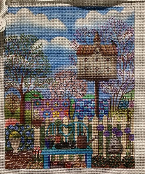 Painted Pony Designs birdhouse