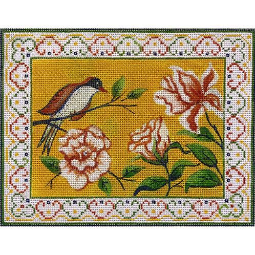 AP 4190 Finch & Flower Mahjongg