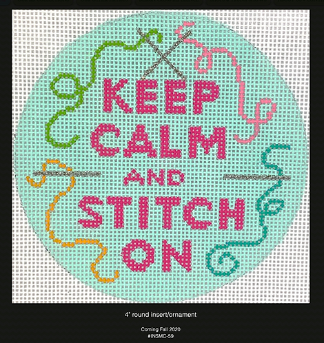 Kate Dickerson Keep Calm and Stitch On